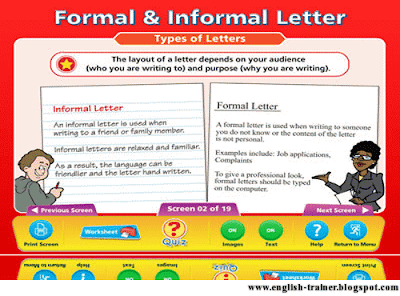 formal informal essay differences