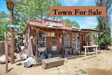 Or, why not buy your own ghost town?