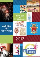 Agenda juin à décembre