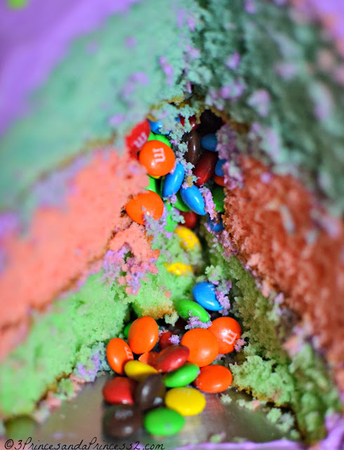 M&M Filled Cake #Recipe #BakingIdeas #Shop