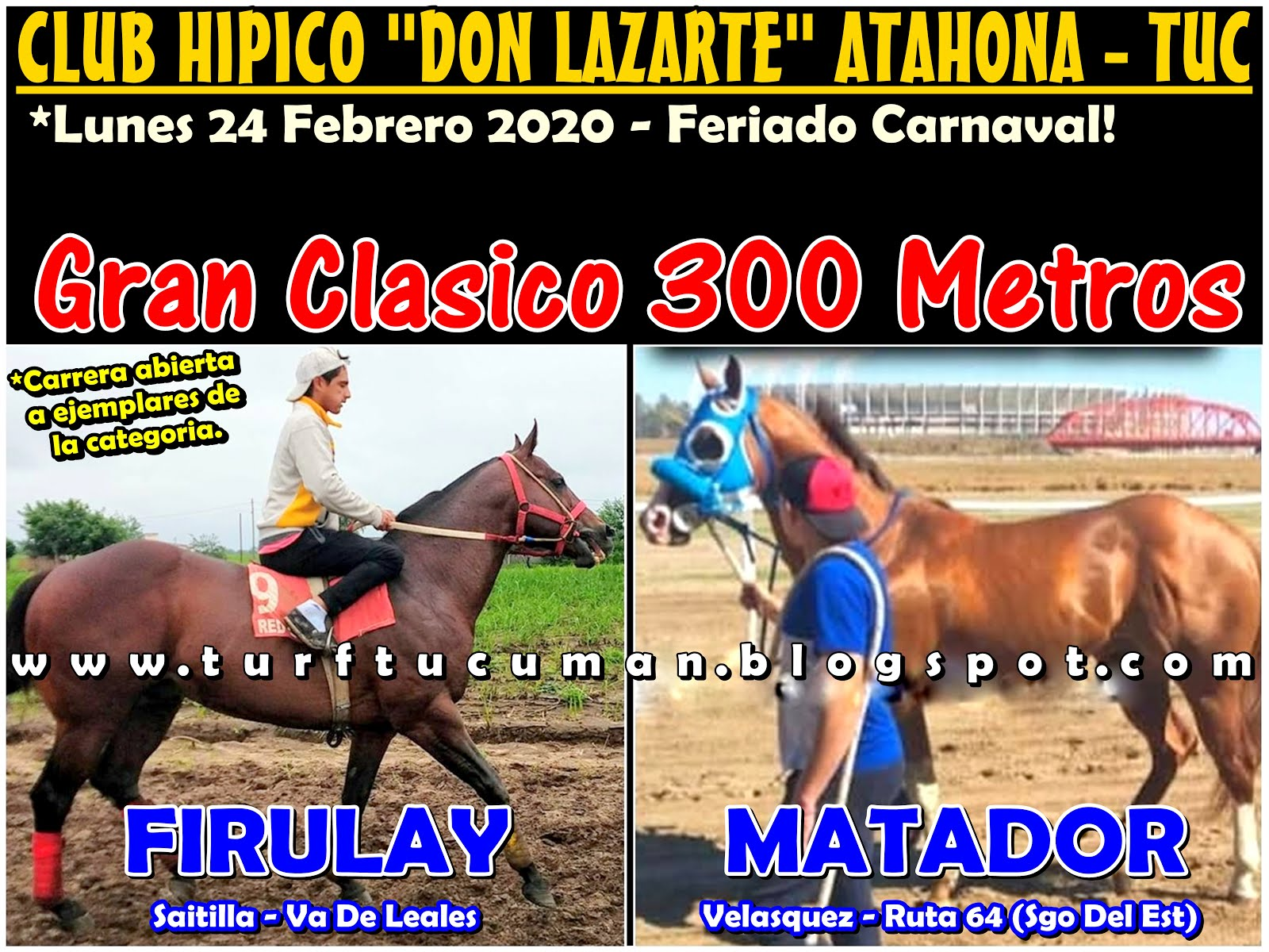 FIRULAY VS MATADOR