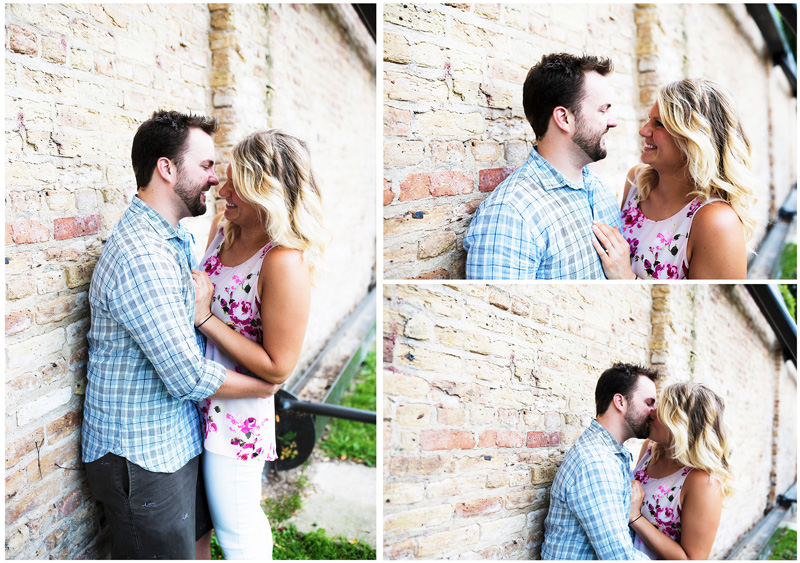 Natural Chicago Engagement