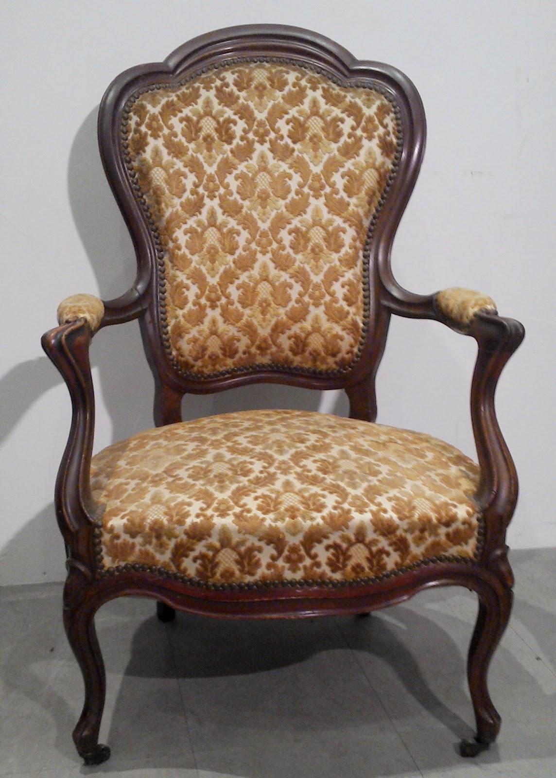 fauteuil cabriolet de style louis. Black Bedroom Furniture Sets. Home Design Ideas