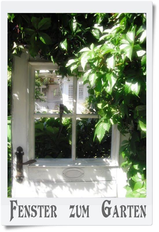 Shabby landhaus das fenster zum hof for Fenster zum hof