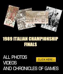 1989 ITALIAN CHAMPIONSHIP FINALS