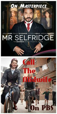 mr. selfridge & call the midwife