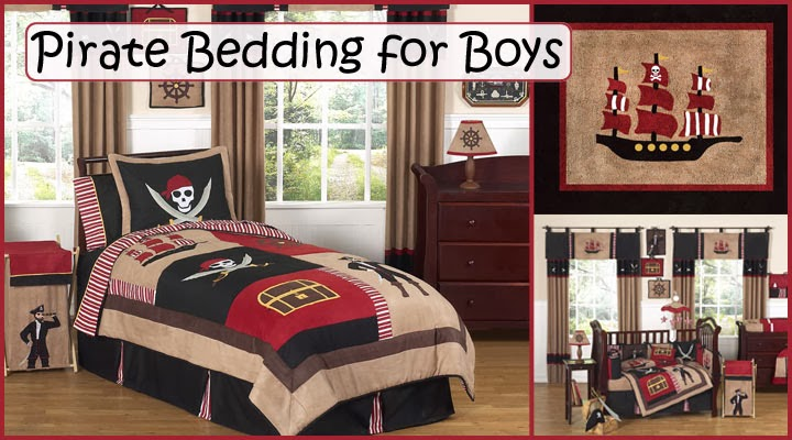 Pirate Bedding for Boys