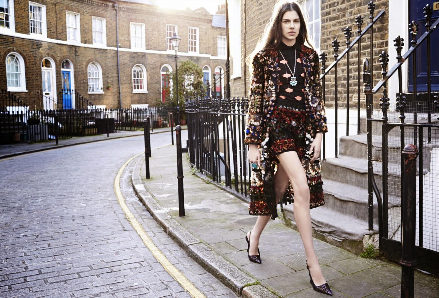 Model @ Amelia Roman by Liz Collins for Elle US, April 2015