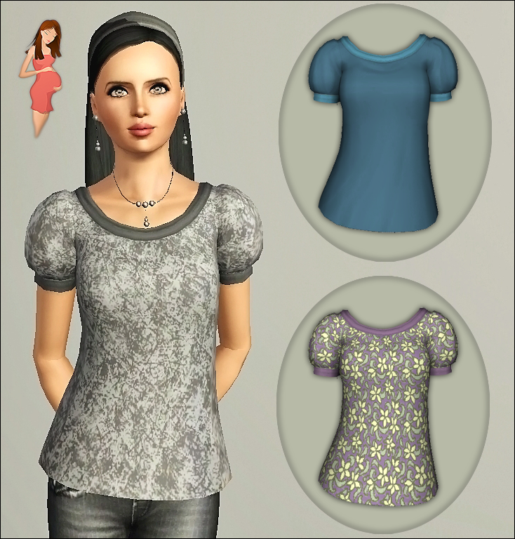 Skin - body: Peggy Zone Bottom & Hair: The Sims 3 - Base Game
