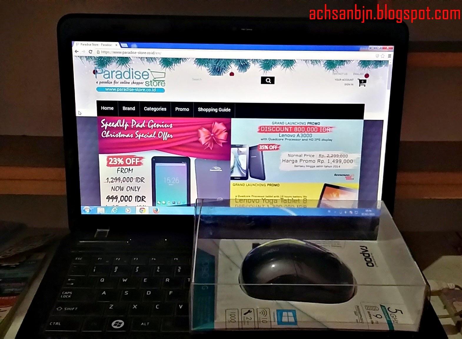 Pengalaman Belanja Online di Paradise-Store.co.id