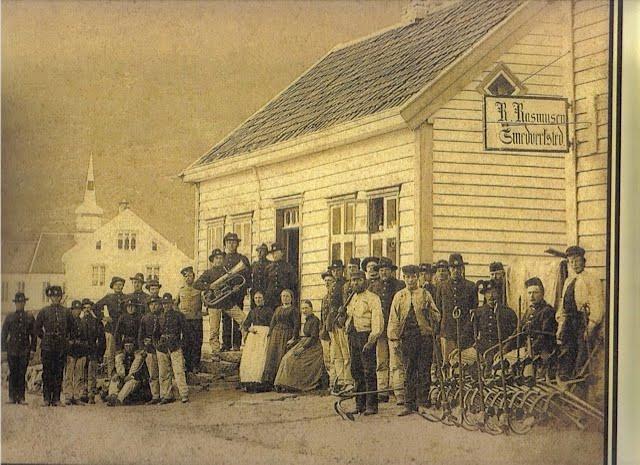 Eidsgata 52 anno 1870 eller deromkring