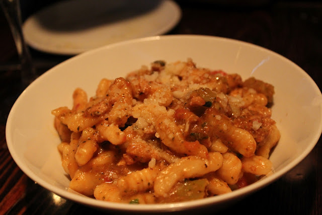 Cavatelli di pollo at Coppa, Boston, Mass.