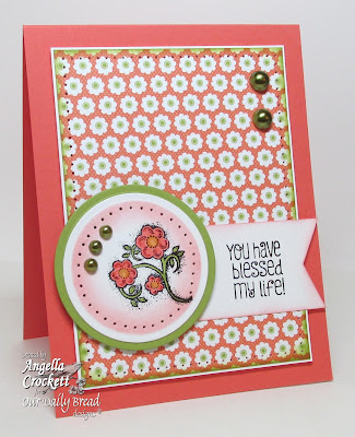 "ODBD ""Be Joyful"" Card Designer Angie Crockett"