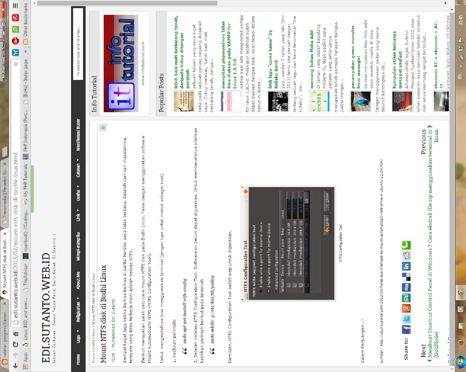 tampilan di layar monitor terlihat miring