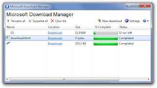 Microsoft Download Manager: Download File Kapasitas Besar dengan Cepat