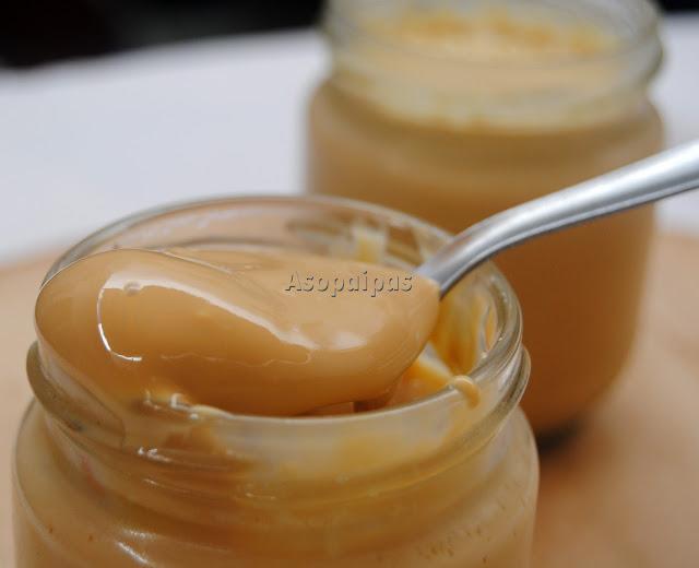 Yogur, Dulce de Leche, postre, casero