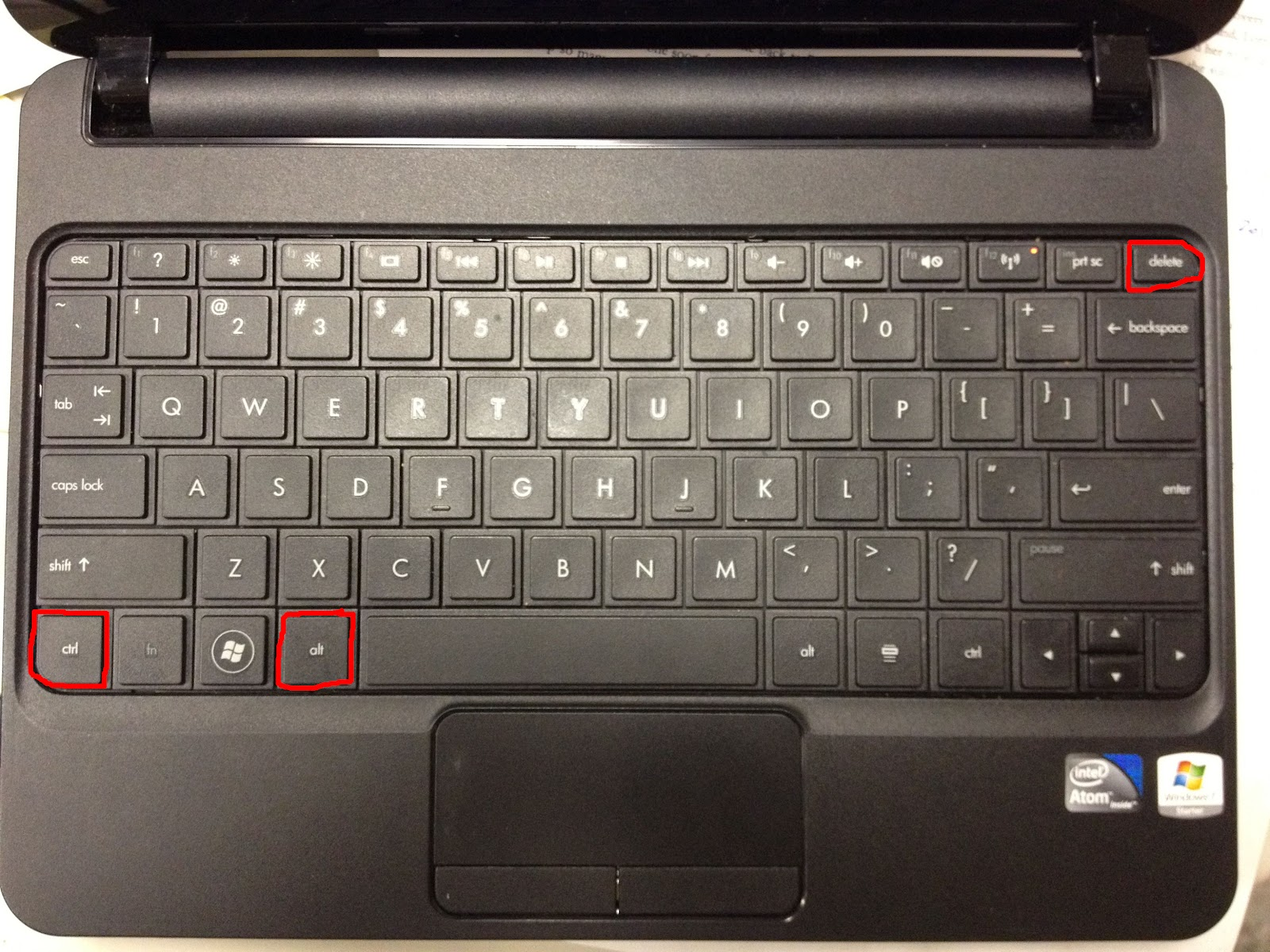 How to reset the password on a hp mini running windows 7 share your