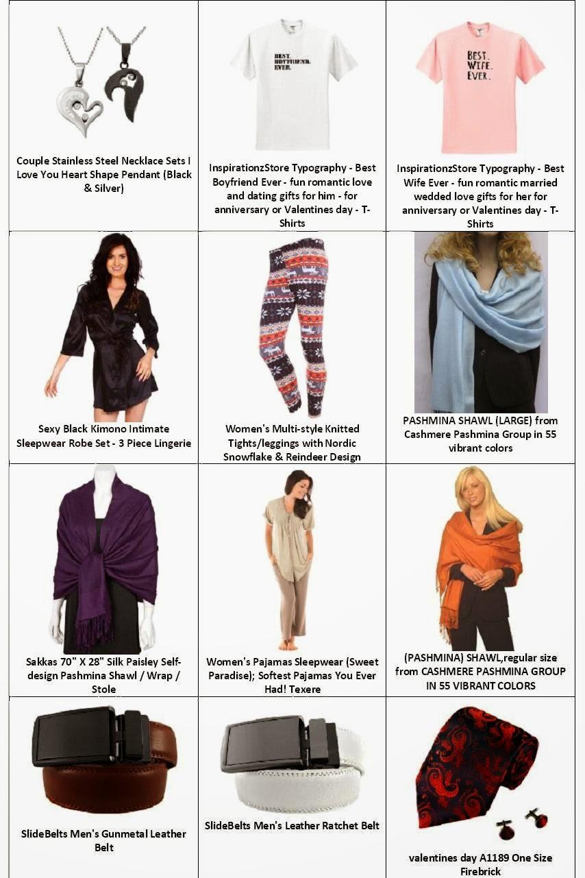 Find Best Valentines Gift --> Clothing & Accessories