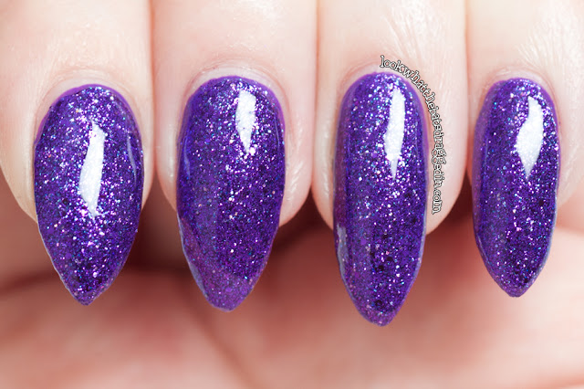 Cirque Queen Majesty nail polish swatch review femme fatale cosmetics