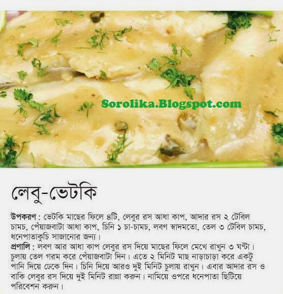 Bangladeshi recipe bangla recipe bangladeshi food recipe vetki macher ranna by prothom alo forumfinder Choice Image