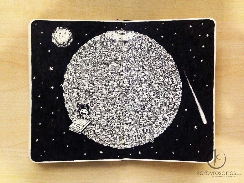 04-Shelter-Kerby-Rosanes-Detailed-Moleskine-Doodles-Illustrations-and-Drawings-www-designstack-co