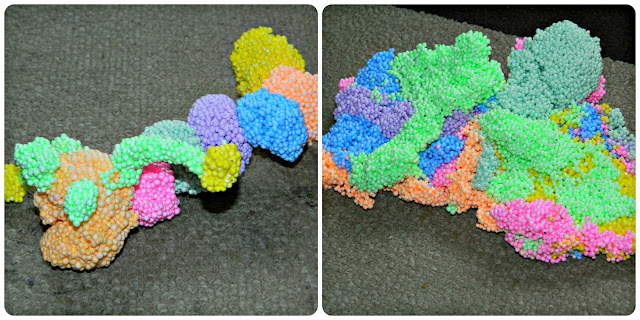 Play Foam Caterpillar and mix
