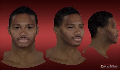 NBA 2K13 Mickaël Gelabale Cyberface Mod