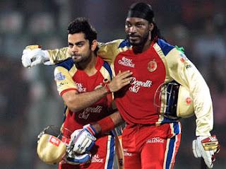 रोयल चैलेंजर्स बंग्लौर का IPL फ़लादेश |