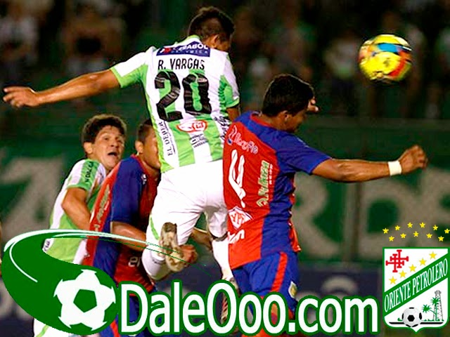 Oriente Petrolero - Rodrigo Vargas - DaleOoo.com sitio del Club Oriente Petrolero