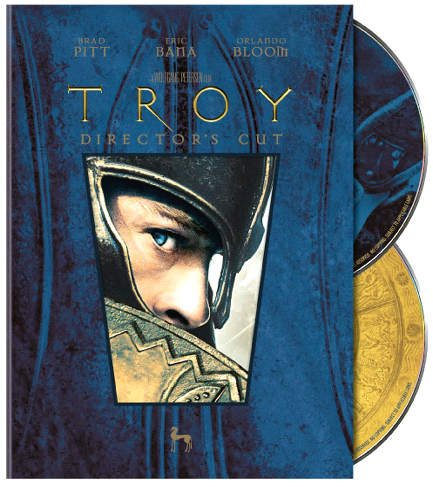 Troy Director's Cut Dvd Case