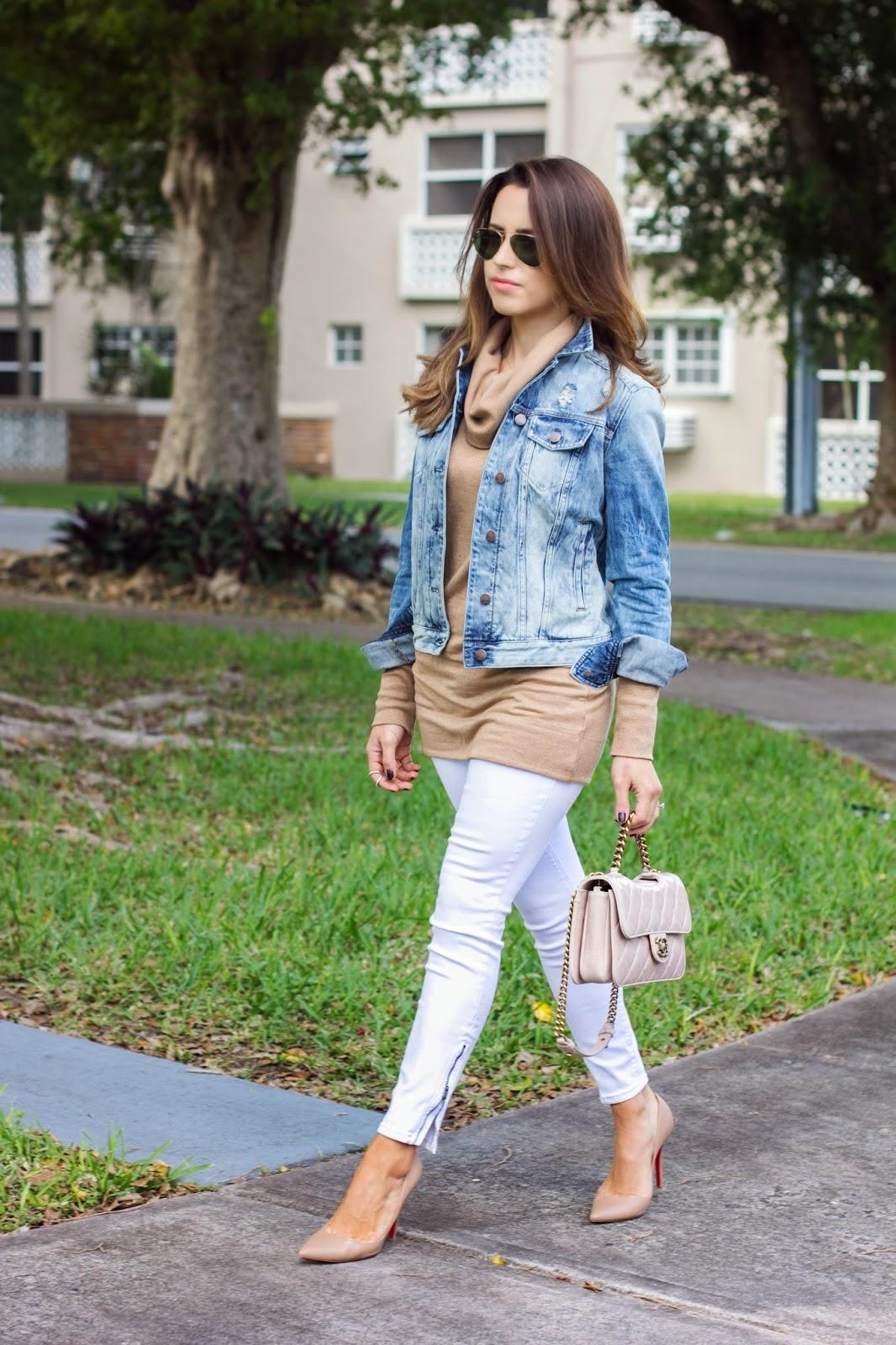 Miami Winter White Jeans Kelly Saks A Miami Style Blog