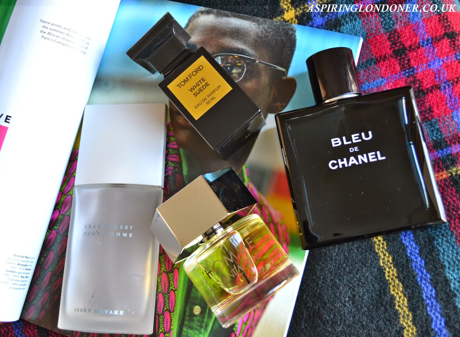 Christmas Gift Guide Perfumes For Him ft Tom Ford, Chanel, YSL, Issey Miyake - Aspiring Londoner
