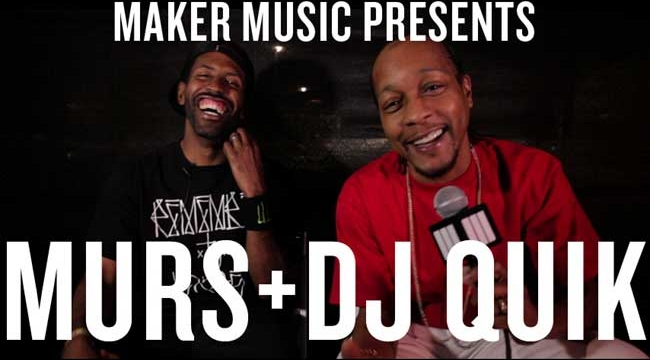 Murs interviews DJ Quik (Video)