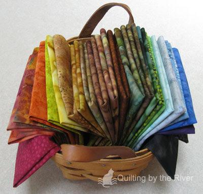 Connecting Threads Batik Sampler