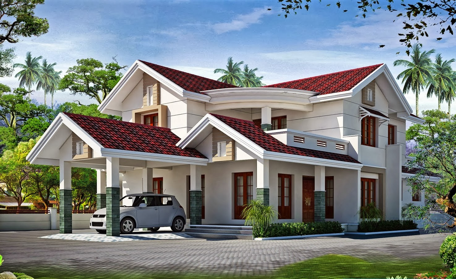 Erode Home building services on goa house design, tamilnadu house design, punjab house design,