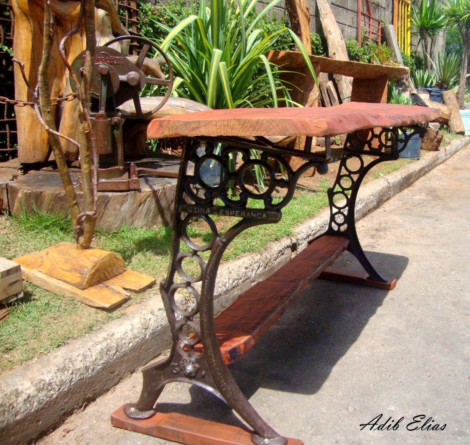 aparador de madeira reciclada e ferro fundido base em ferro fundido  #996432 1600x1516