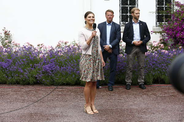 King Carl Gustaf and Queen Silvia, Crown Princess and Prince Daniel  and Princess Estelle
