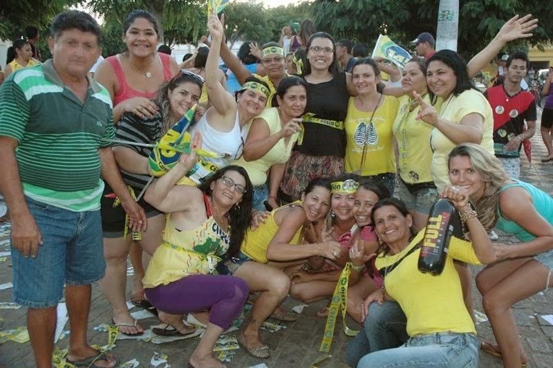 Ouro Velho comemora vitória de Cássio no município