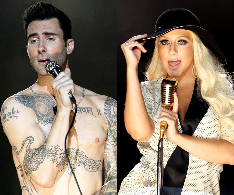 060 maroon 5 feat  christina aguilera   moves like jagger