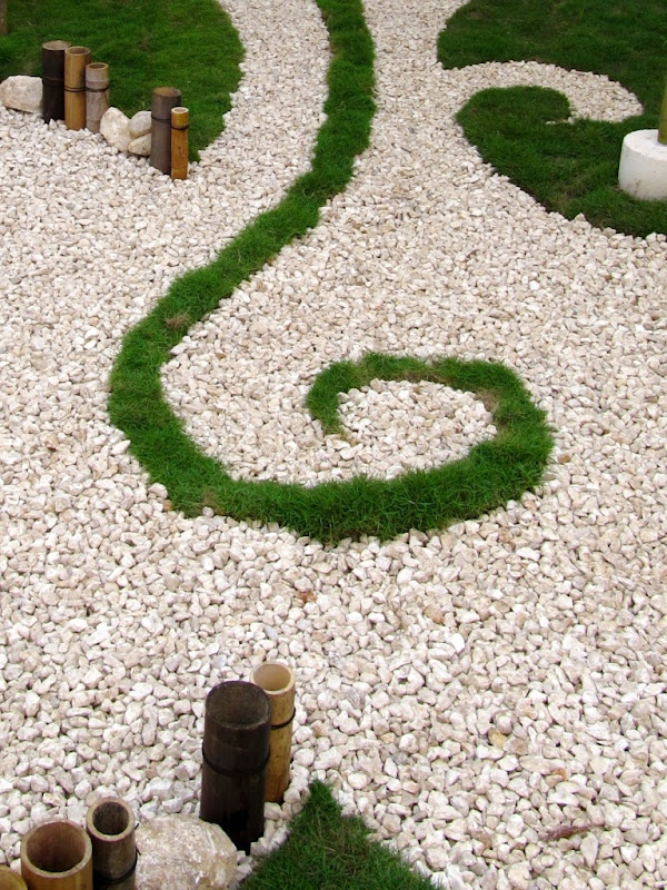 foto jardin pequeño conceptual bambu despues 2
