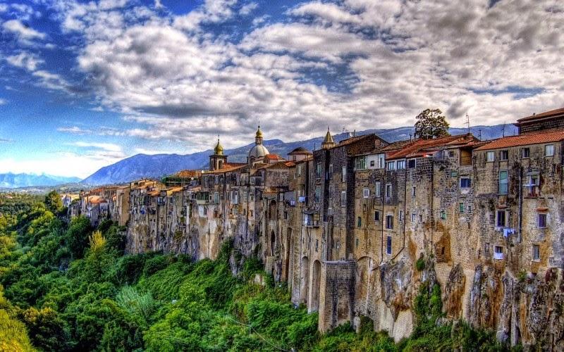 итальянский городок