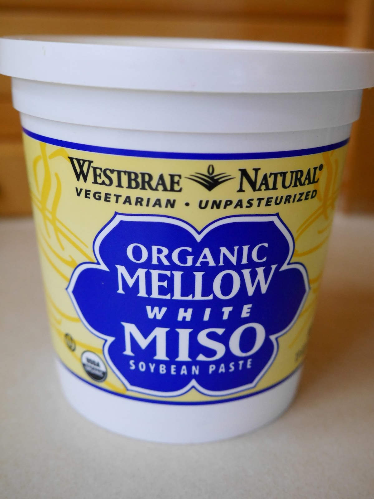 Westbrae white miso is made with cultured organic white rice, organic ...
