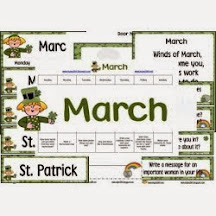 March free activity pack
