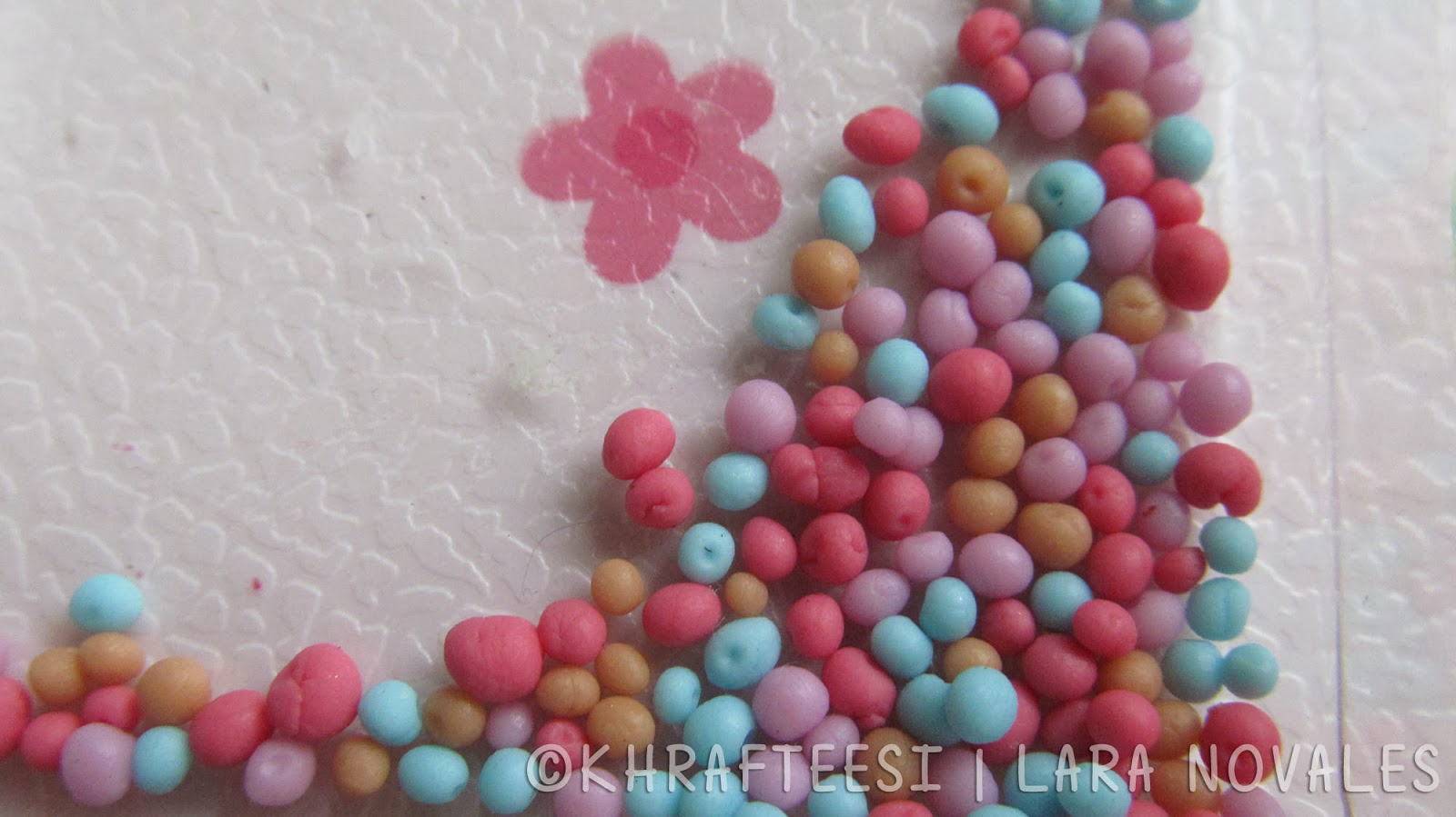 cold porcelain clay candy sprinkles