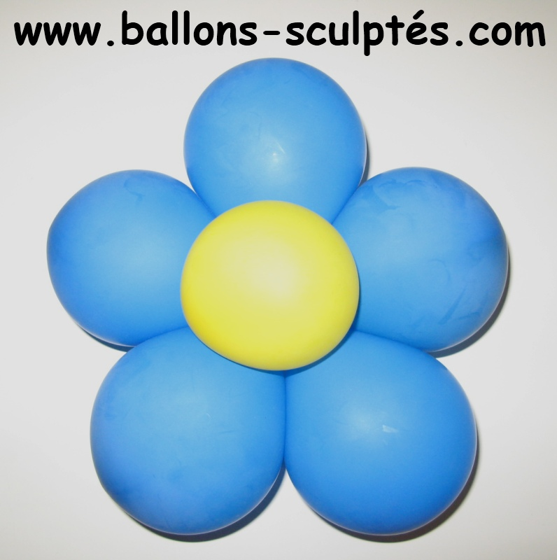Fleur En Ballon De Baudruche