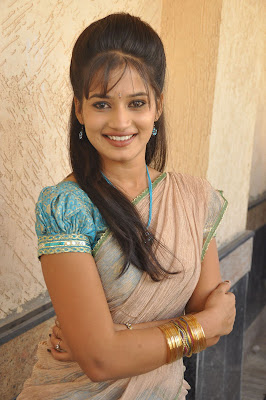 Stunning Avanthika rao traditional south saree photos gallery