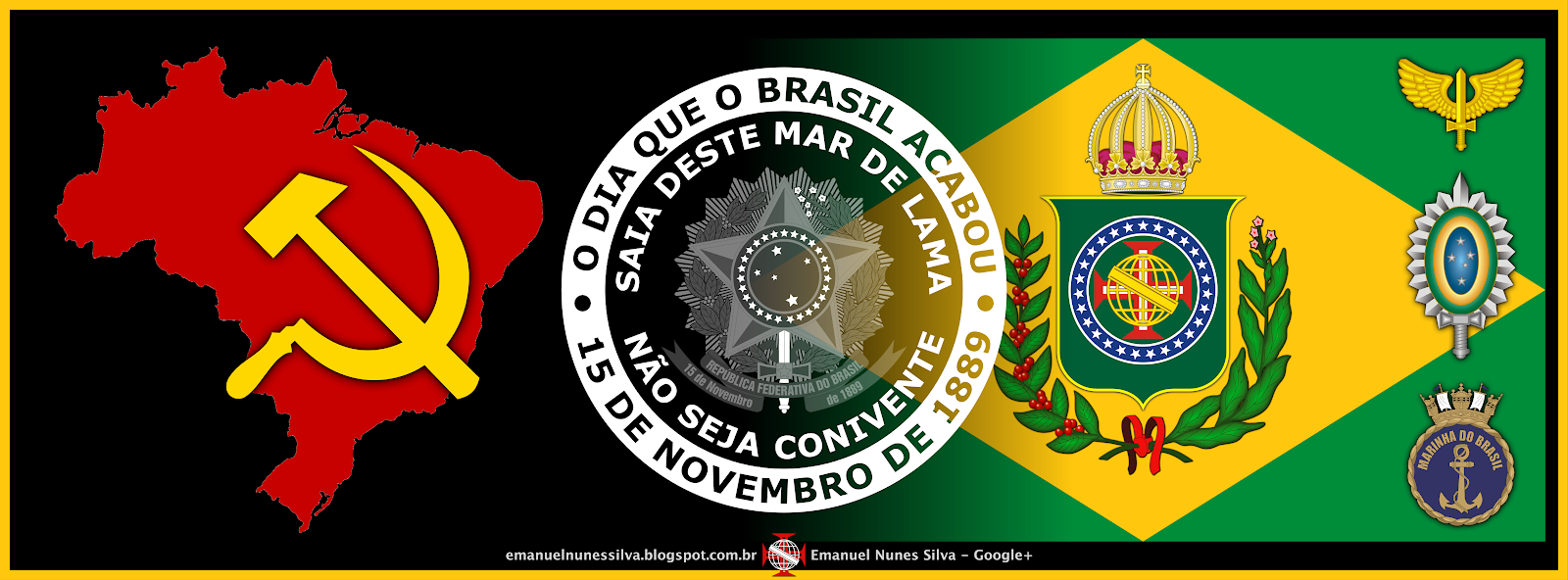 Organizações Criminosas das Facções Narco-Psicopatas-Partidárias...