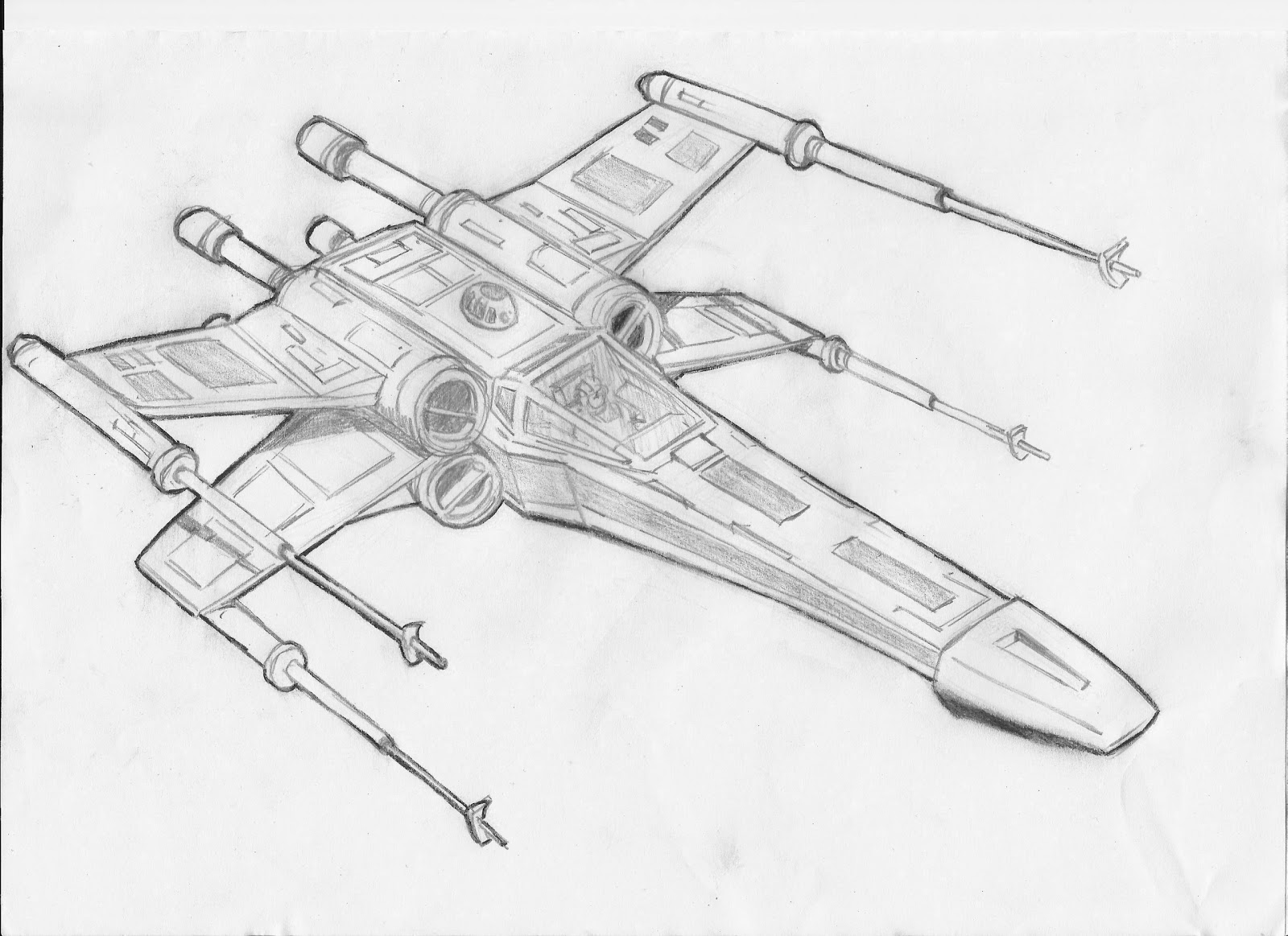 X Wing Line Drawing : The gallery for gt you are my sunshine coloring pages