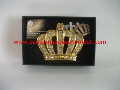 Logo Mahkota Raja Gold
