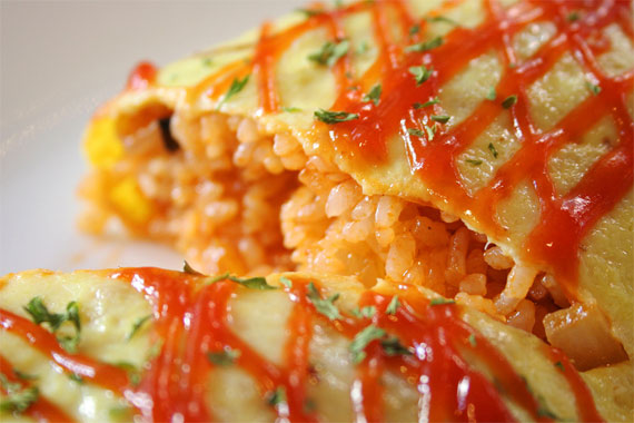 resep omurice omelet rice   love your life